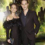 Tom Hardy with ex-wife Sarah Ward