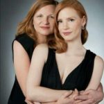 jessica Chastain with her mother Jerri Chastain