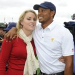 tiger Woods with his ex-girlfriend Lindsey Vonn