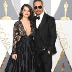 tom Hardy with wife Charlotte Riley image
