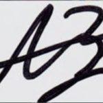 Asa Butterfield signature
