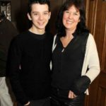 Asa Butterfield with mother Jacqueline Farr