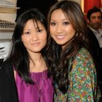 Brenda Song with mother Mai Song