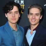 Cole Sprouse with brother Dylan Sprouse