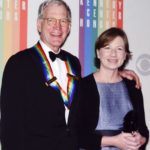 David Letterman with wife Regina Lasko