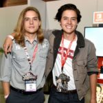 Dylan Sprouse with brother Cole Sprouse image