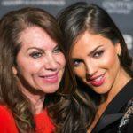 Eiza Gonzalez with mother Glenda Reyna