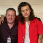 Harry Styles with father Desmond Styles