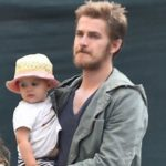 Hayden Christensen with daughter Briar Rose Christensen