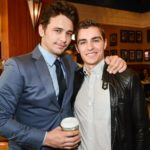 James Franco with brother Dave Franco