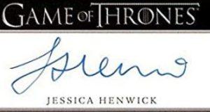 Jessica Henwick signature