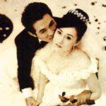Jet Li with wife Nina Li chi image