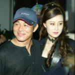 Jet Li with wife Nina Lichi