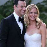Jimmy Kimmel and Molly McNearney wedding image