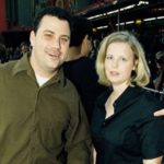 Jimmy Kimmel with ex-wife Gina Maddy Kimmel image