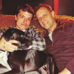 Josh Hutcherson with father Chris Hutcherson image