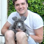 Josh Hutcherson with his pet image