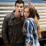 Lily Collins and Taylor Lautner dated