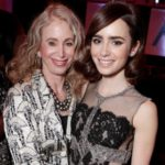 Lily Collins with mother Jill Tavelman