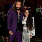 Lisa Bonet with husband Jason Mamoa