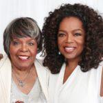 Oprah Winfrey with mother Vernita Lee
