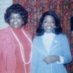 Oprah Winfrey with sister Patricia Lofton