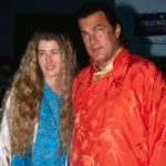 Steven Seagal with ex-wife Adrienne Larussa