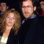 Steven Spielberg with former wife Amy Irving