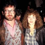 Steven Spielberg with former wife Amy Irving image