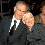 Steven Spielberg with mother Leah Adler