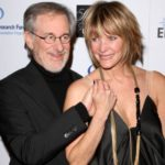 Steven Spielberg with wife Kate Capshaw