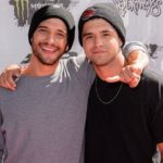 Tyler Posey with brother Jesse Posey