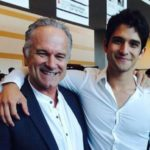 Tyler Posey with father John Posey
