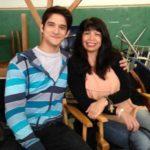 Tyler Posey with mother Cyndi Terese Garcia Posey