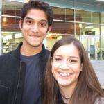 Tyler Posey with sister Mayra Posey