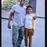 Wesley Snipes with son Alaafia Jehu-T Snipes