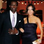 Wesley Snipes with wife Nakyung Park