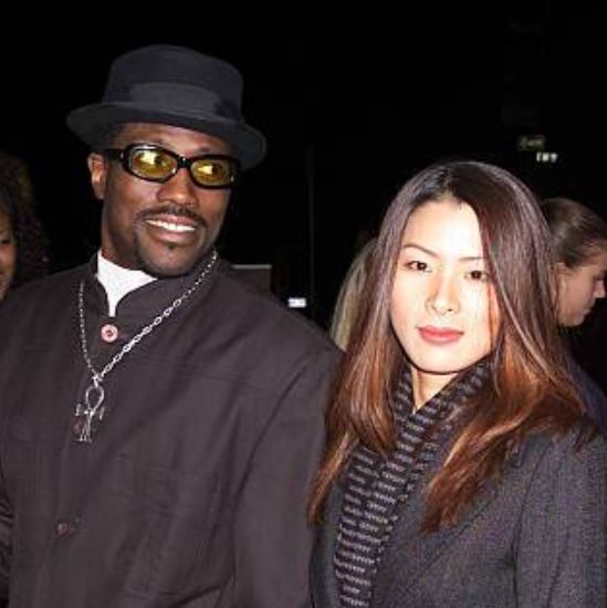 Wesley Snipes With Wife Nakyung Park Image Celebrities Infoseemedia