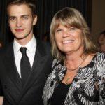 hayden Christensen with mother Alie Christensen