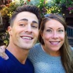 Colton Haynes with sister Willow Haynes