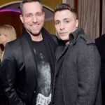 Colton Haynes with spouse Jeff Leatham