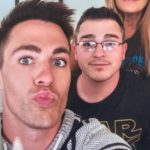 Colton haynes with brother Clinton Haynes