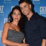 Cristiano ROnaldo with life partner Georgina Rodriguez