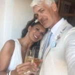 Dina Eastwood with husband Scott Fisher