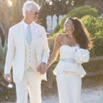 Dina Eastwood with husband Scott Fisher image