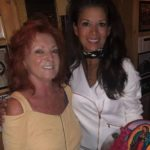 Dina Eastwood with mother Mary Ruiz