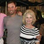 Dustin Johnson with mother Kandee Johnson