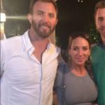 Dustin Johnson with sister Laurie Johnson