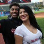 Francisco Linder and girlfriend Nilmarie Huertal