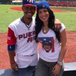 Francisco linder with girlfriend Nilmarie Huertal
